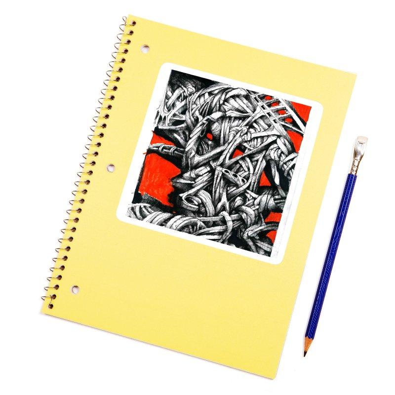 Drawing Blog No.2 - 14.4.09 Accessories Sticker by schizo pop