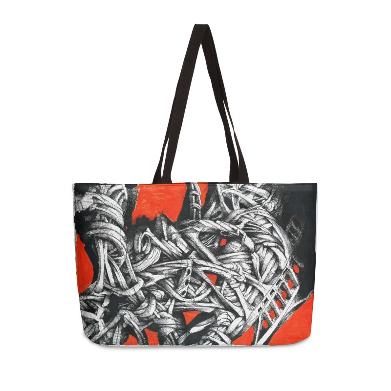 Drawing Blog No.2 - 14.4.09 Accessories Weekender Bag Bag by schizo pop