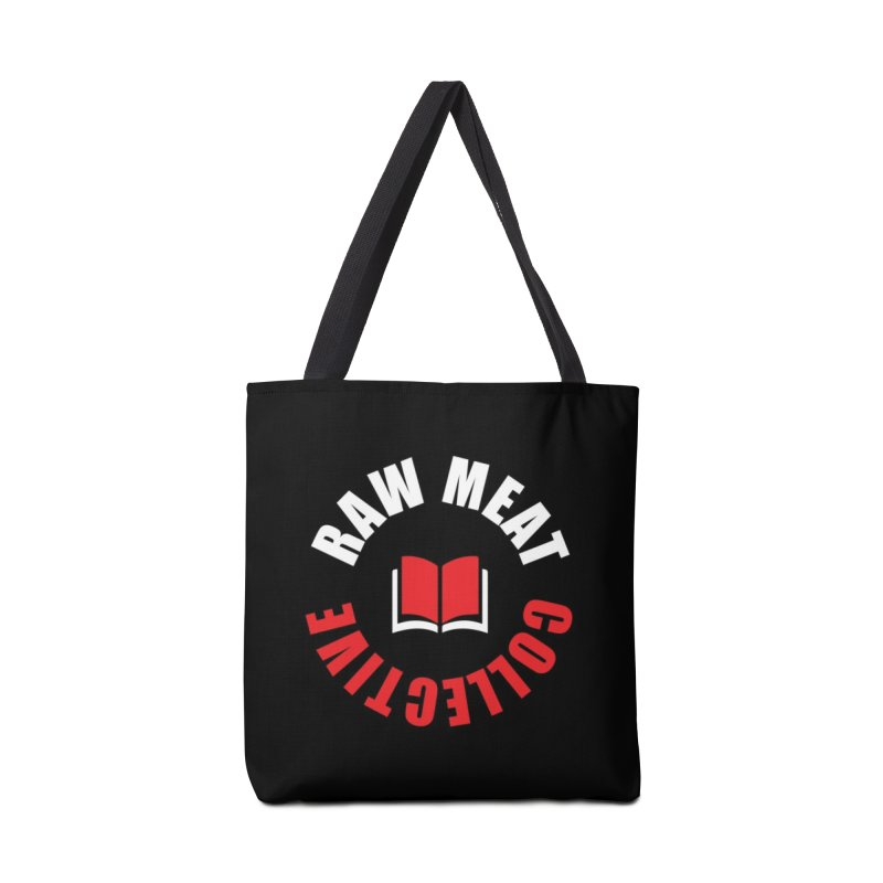 Raw Meat Collective Logo Accessories Tote Bag Bag by Raw Meat Collective