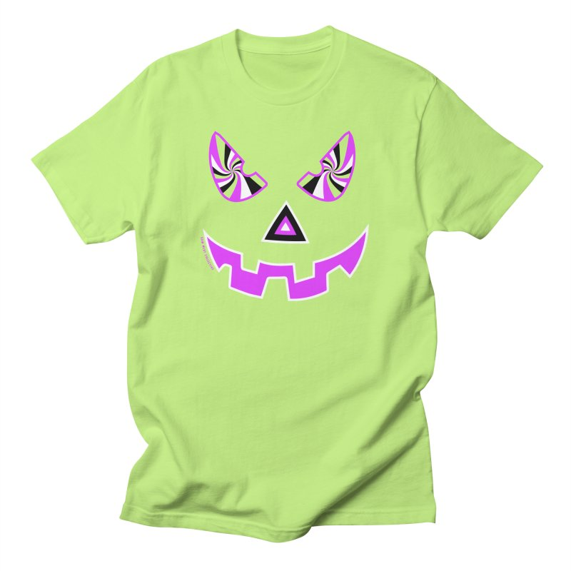 Evil Pumpkin Head Tee Men's T-Shirt by Raw Meat Collective