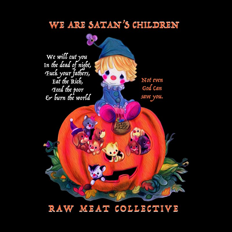 Halloween Spirit Tee Men's T-Shirt by Raw Meat Collective