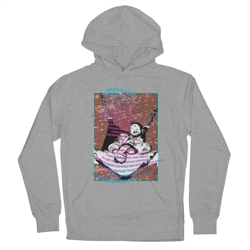 """MEAT POEM"" by Patrick Arias Women's French Terry Pullover Hoody by Raw Meat Collective"