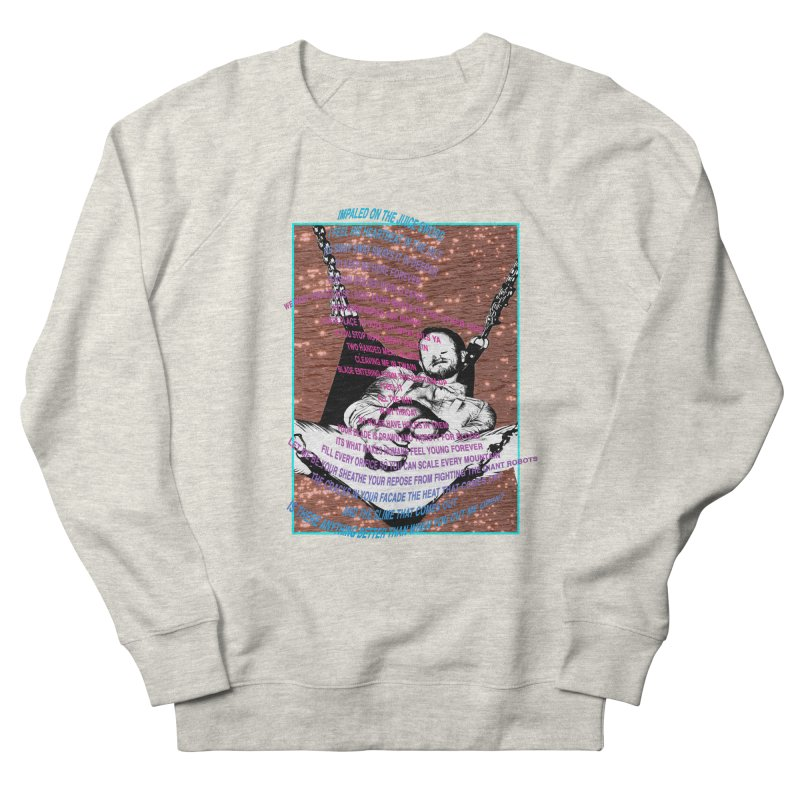 """MEAT POEM"" by Patrick Arias Men's French Terry Sweatshirt by Raw Meat Collective"
