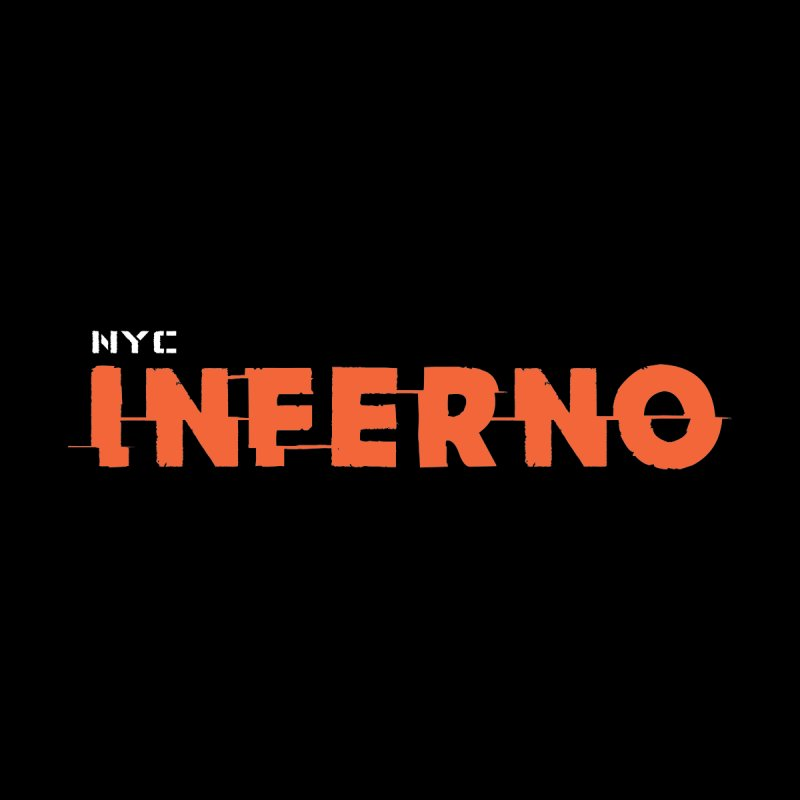 NYC Inferno Logo Tee Men's T-Shirt by Raw Meat Collective