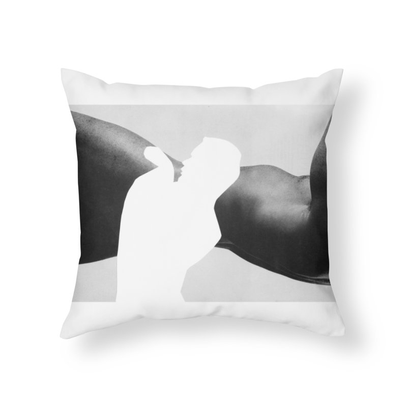 """""""untitled body study"""" by Robbie Sinclair Home Throw Pillow by Raw Meat Collective"""