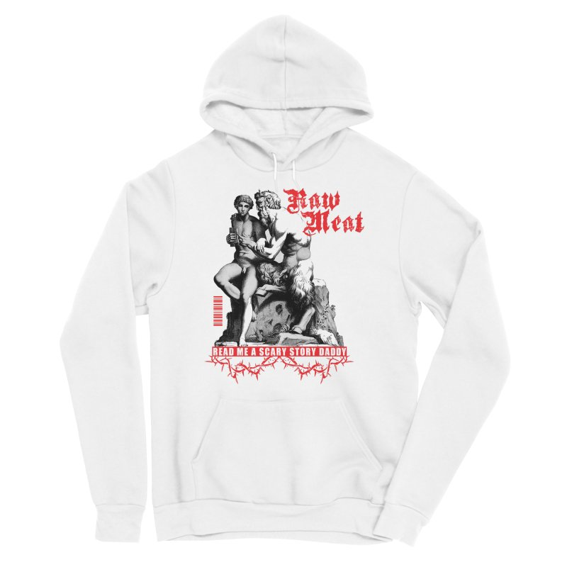 Collage by Kyle Quinn Men's Sponge Fleece Pullover Hoody by Raw Meat Collective