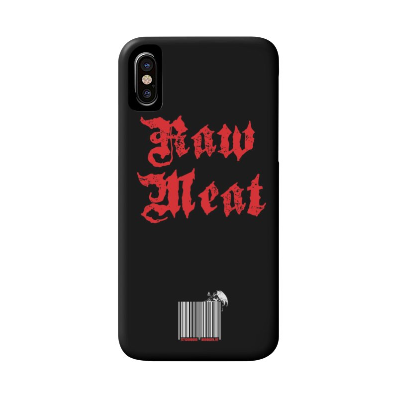 Raw Meat Phone Case Accessories Phone Case by Raw Meat Collective