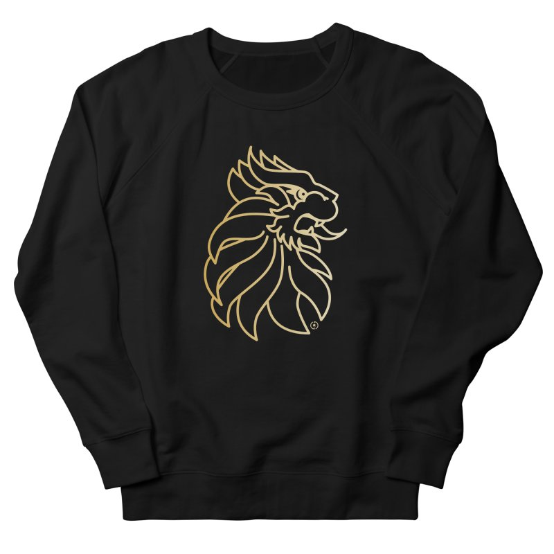 Roar Gold Men's French Terry Sweatshirt by Shop by Ray de Guzman  •  raydeguzman.ca