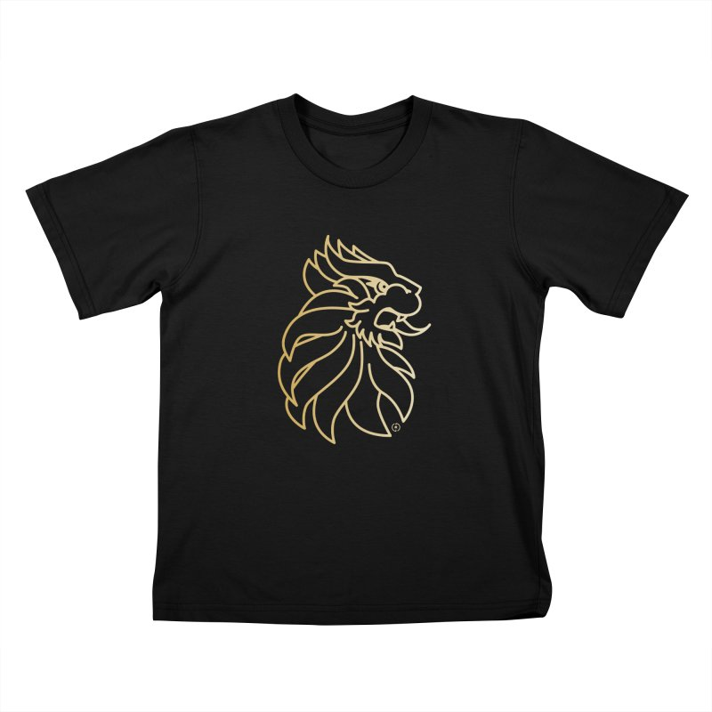 Roar Gold Kids T-Shirt by Shop by Ray de Guzman  •  raydeguzman.ca