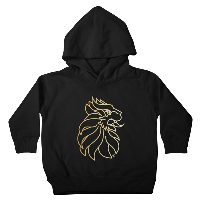 Roar Gold Kids Toddler Pullover Hoody by Shop by Ray de Guzman  •  raydeguzman.ca