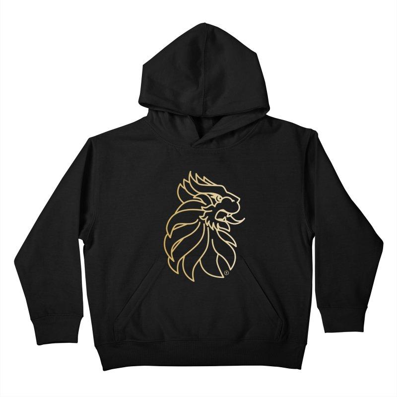 Roar Gold Kids Pullover Hoody by Shop by Ray de Guzman  •  raydeguzman.ca
