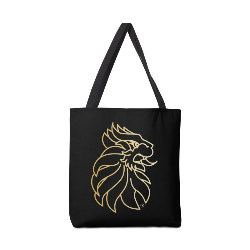 Roar Gold Accessories Tote Bag Bag by Shop by Ray de Guzman  •  raydeguzman.ca
