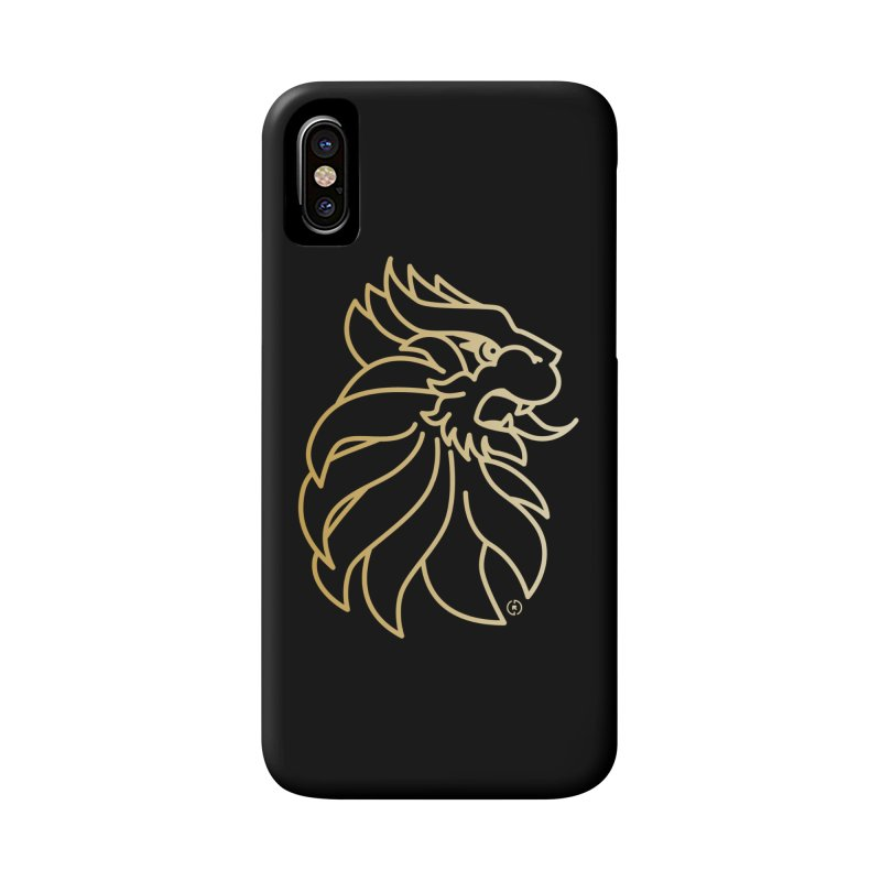 Roar Gold Accessories Phone Case by Shop by Ray de Guzman  •  raydeguzman.ca