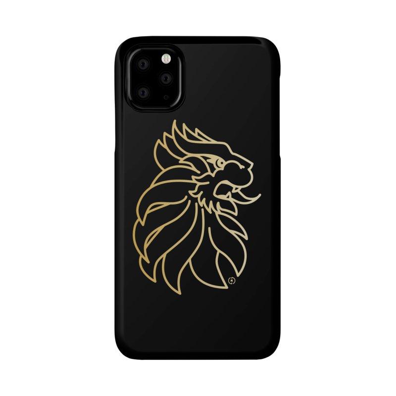 Roar Gold Accessories Phone Case by Shop by Ray de Guzman  •  raydeguzman.ca