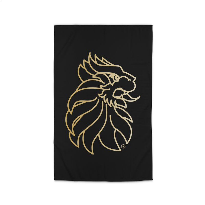 Roar Gold Home Rug by Shop by Ray de Guzman  •  raydeguzman.ca