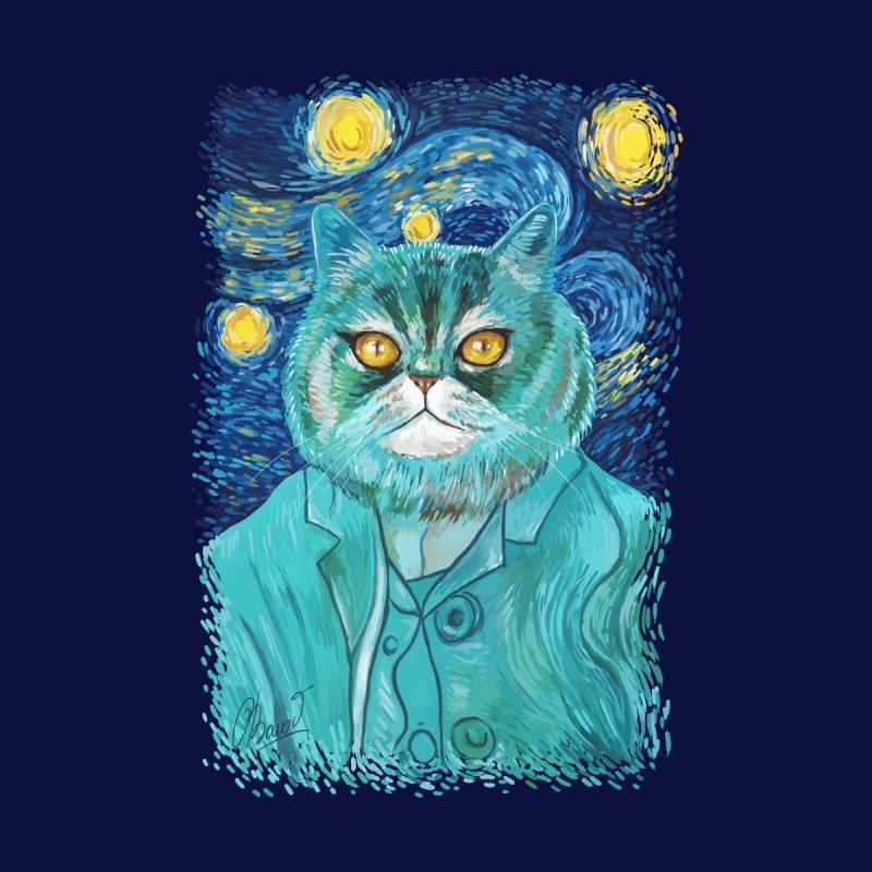 Vincent Van Cat by RayneColdkiss Art