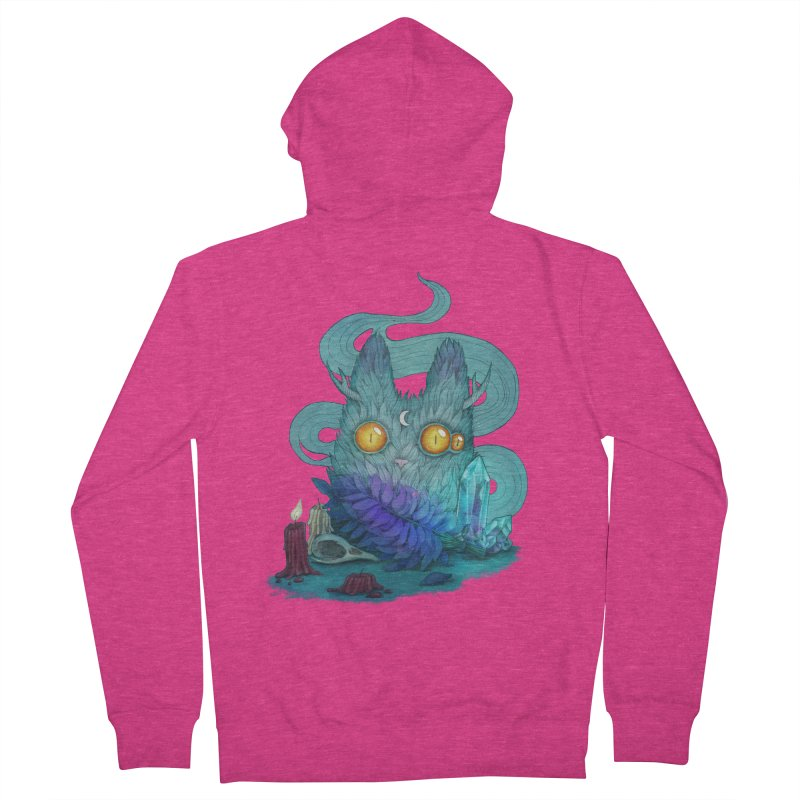 Mystic Forest Women's French Terry Zip-Up Hoody by RayneColdkiss Art