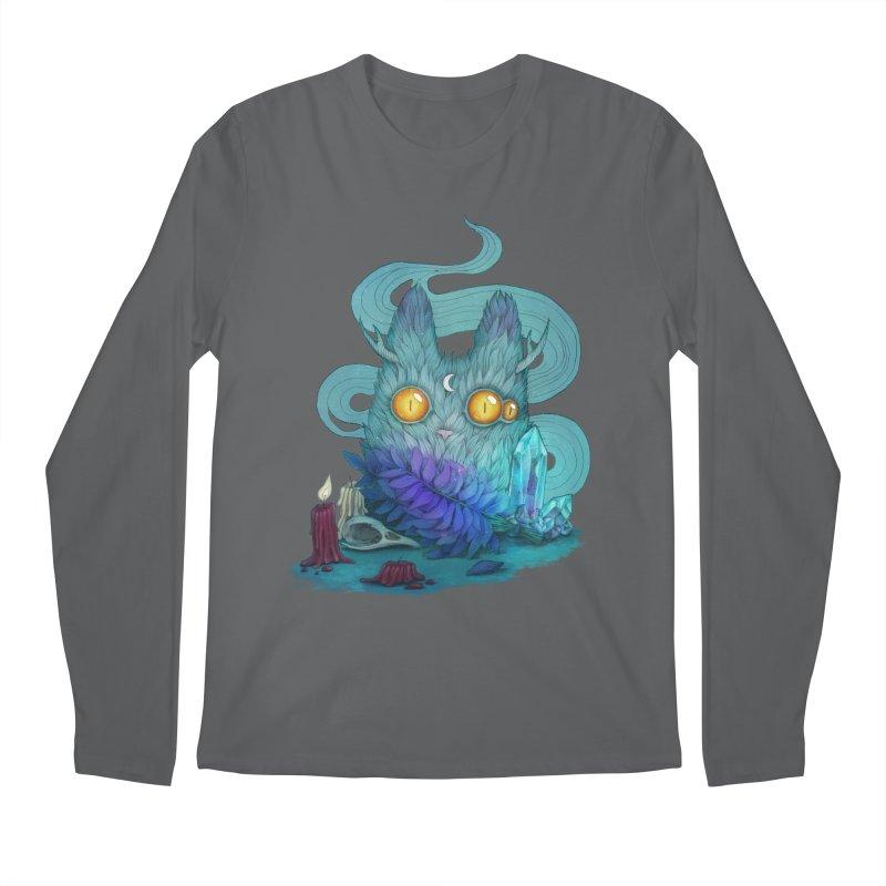 Mystic Forest Men's Longsleeve T-Shirt by RayneColdkiss Art