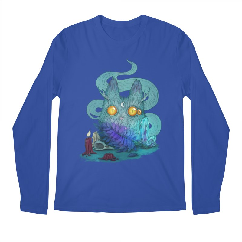 Mystic Forest Men's Regular Longsleeve T-Shirt by RayneColdkiss Art