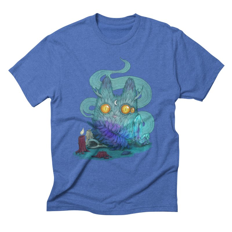 Mystic Forest Men's Triblend T-Shirt by RayneColdkiss Art