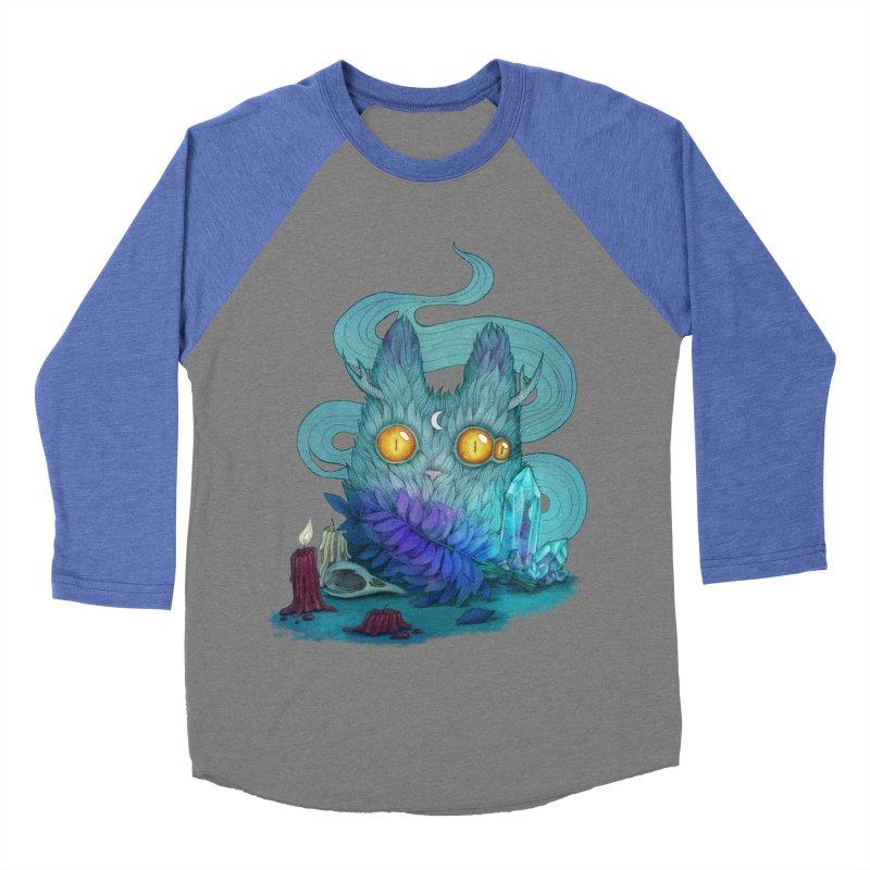 Mystic Forest Men's Baseball Triblend T-Shirt by RayneColdkiss Art