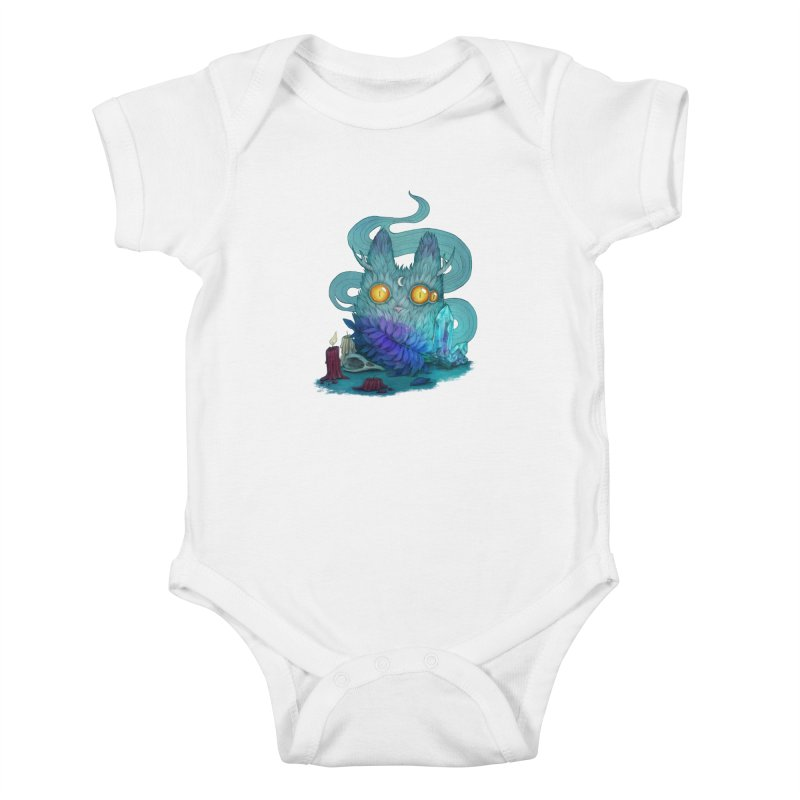 Mystic Forest Kids Baby Bodysuit by RayneColdkiss Art