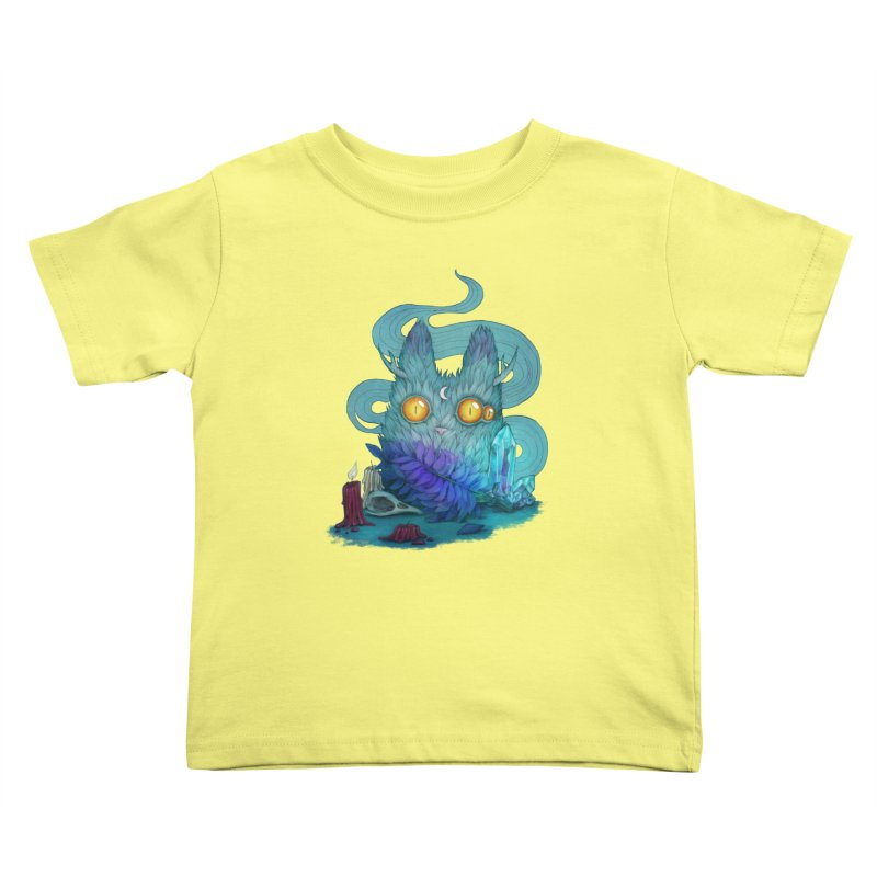 Mystic Forest Kids Toddler T-Shirt by RayneColdkiss Art