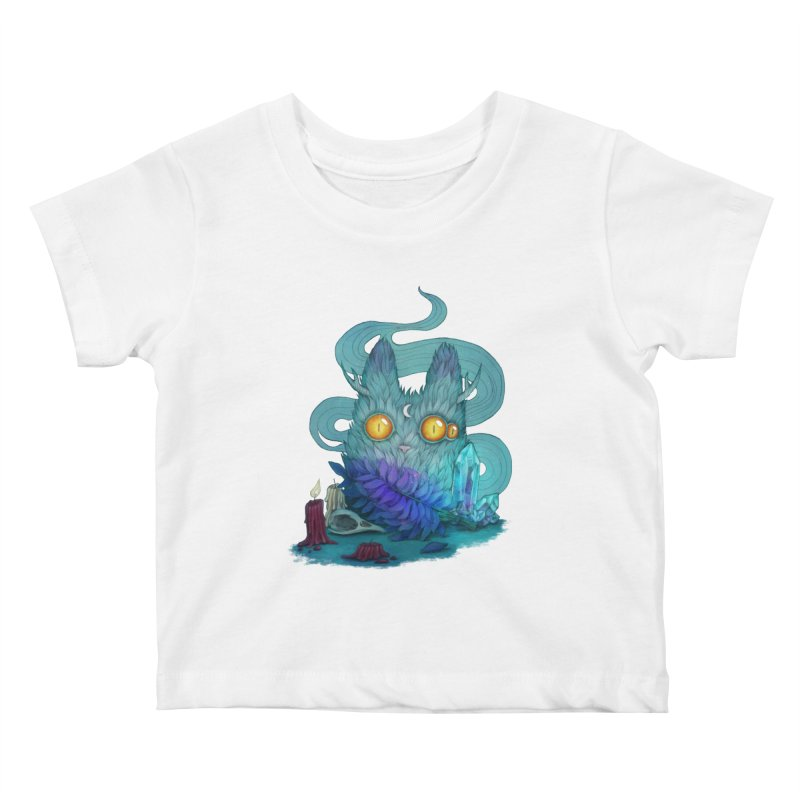 Mystic Forest Kids Baby T-Shirt by RayneColdkiss Art
