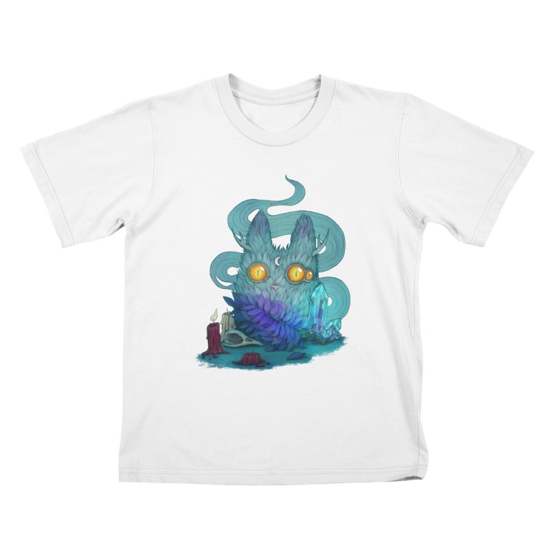 Mystic Forest Kids T-Shirt by RayneColdkiss Art