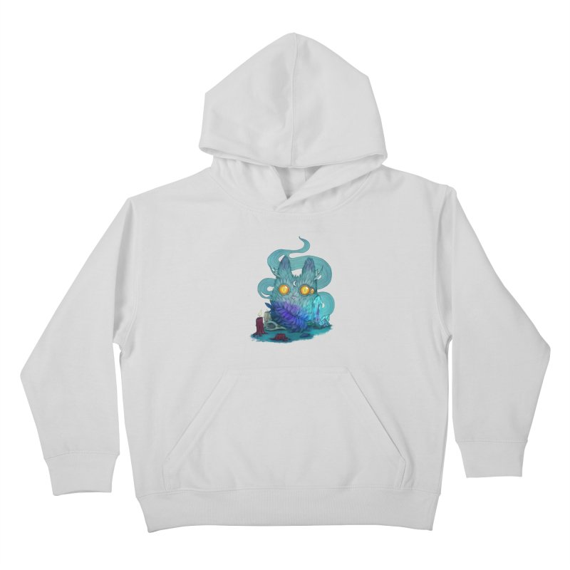 Mystic Forest Kids Pullover Hoody by RayneColdkiss Art