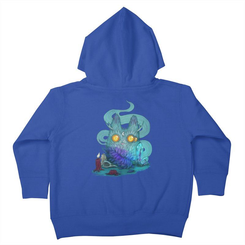 Mystic Forest Kids Toddler Zip-Up Hoody by RayneColdkiss Art