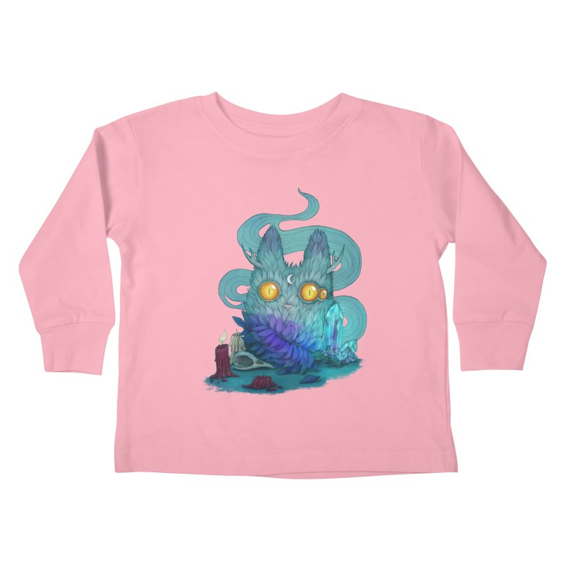 Mystic Forest Kids Toddler Longsleeve T-Shirt by RayneColdkiss Art