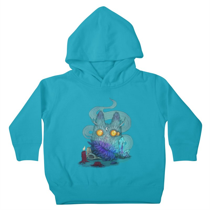 Mystic Forest Kids Toddler Pullover Hoody by RayneColdkiss Art