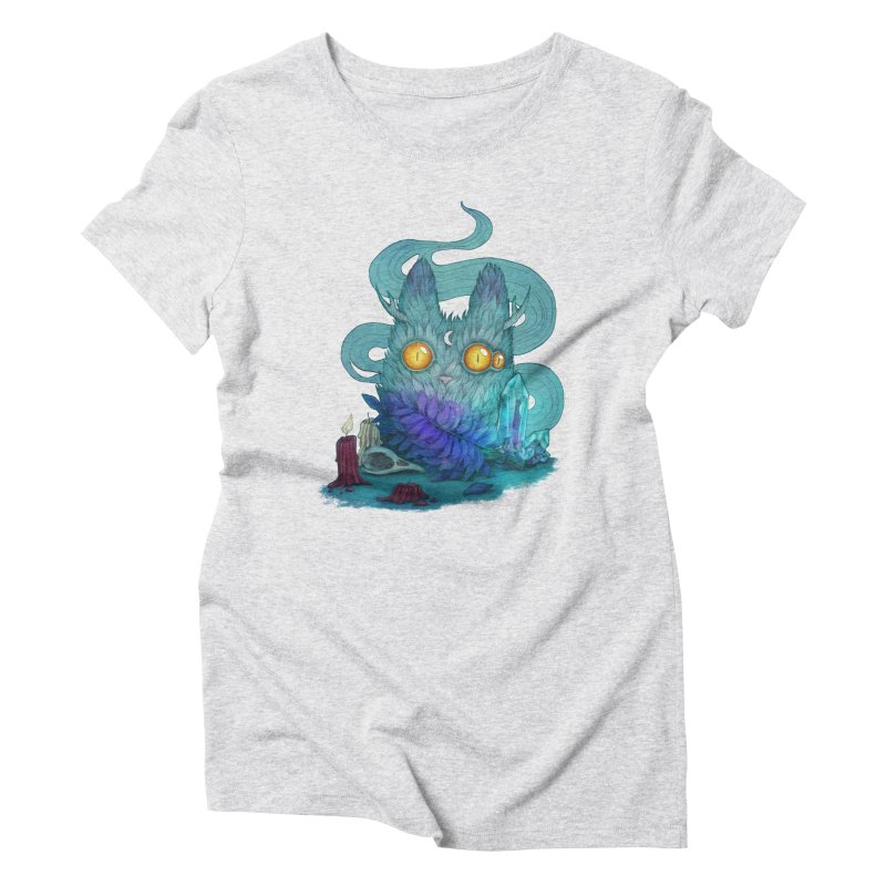 Mystic Forest Women's Triblend T-Shirt by RayneColdkiss Art