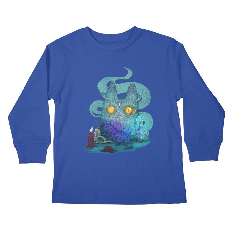 Mystic Forest Kids Longsleeve T-Shirt by RayneColdkiss Art