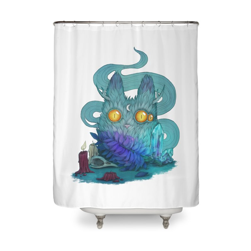 Mystic Forest Home Shower Curtain by RayneColdkiss Art