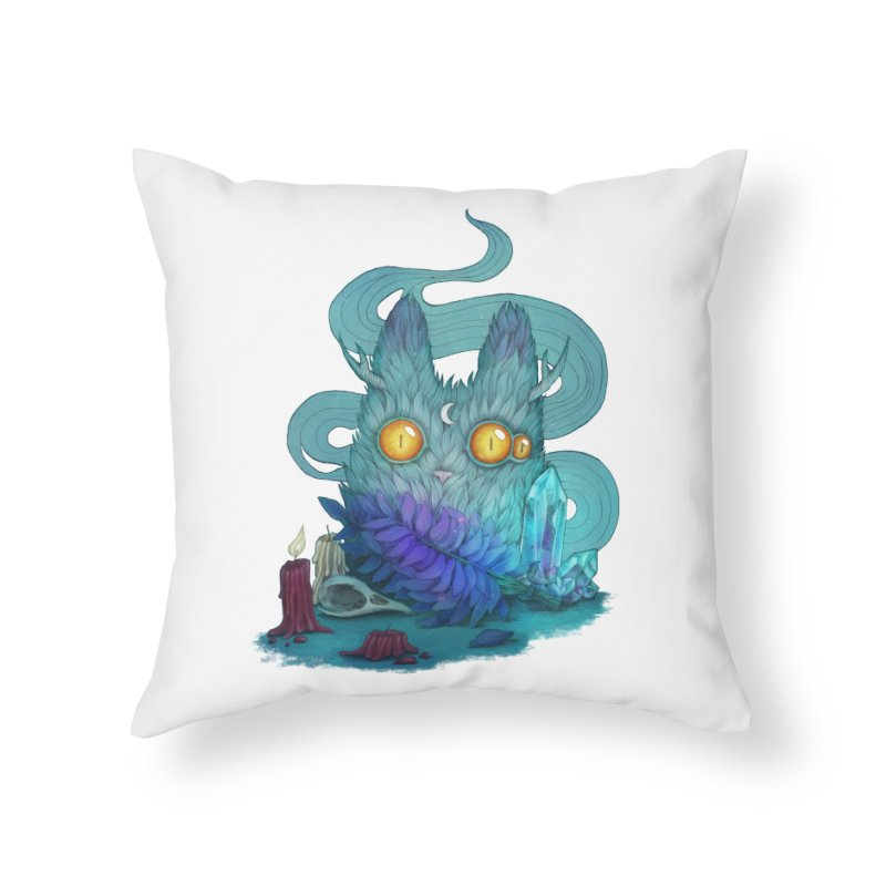 Mystic Forest Home Throw Pillow by RayneColdkiss Art