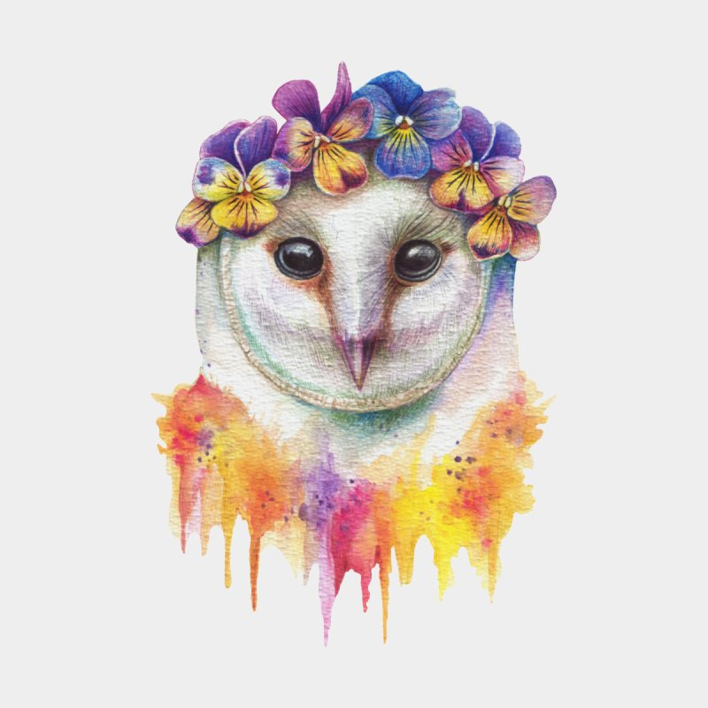 Spring Owl None  by RayneColdkiss Art