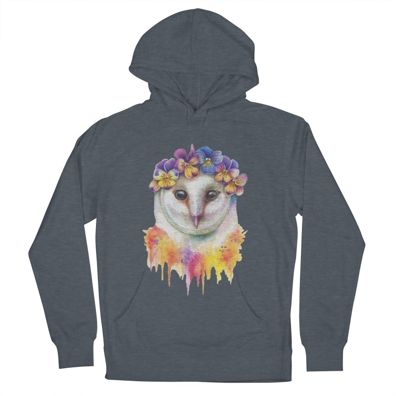 Spring Owl Women's Pullover Hoody by RayneColdkiss Art