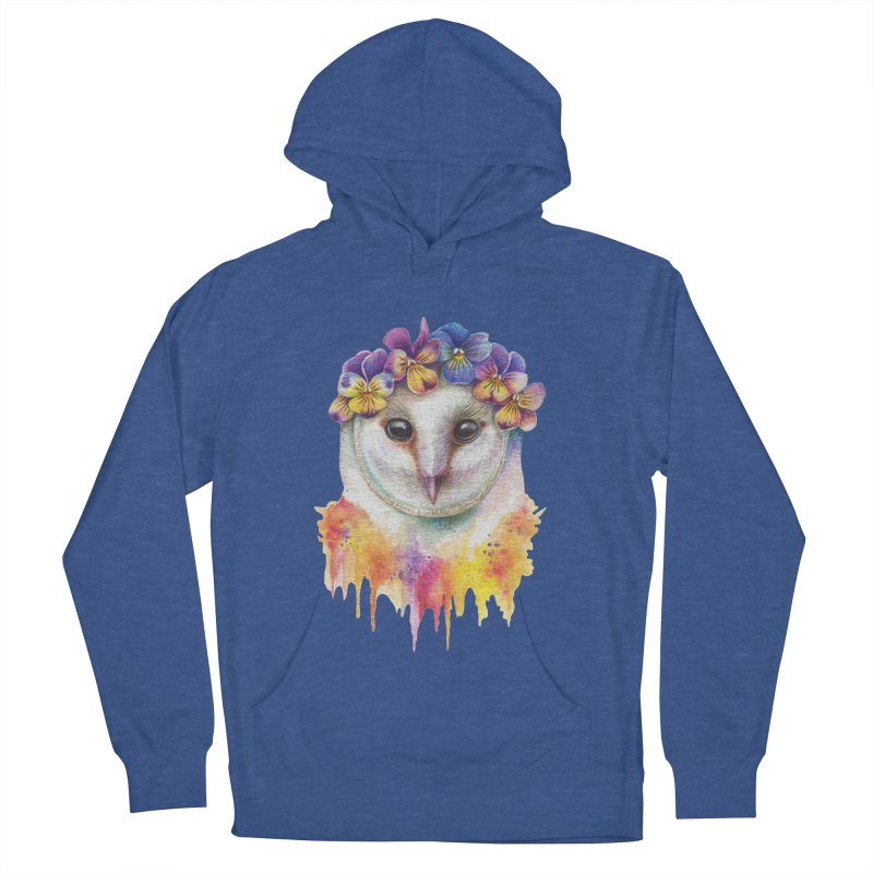Spring Owl Men's Pullover Hoody by RayneColdkiss Art