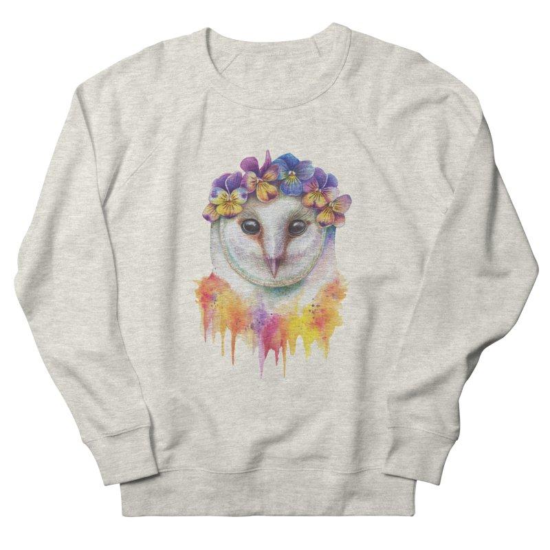 Spring Owl Women's Sweatshirt by RayneColdkiss Art