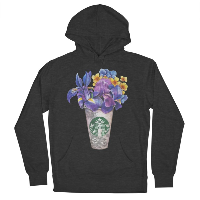 Starbucks Men's Pullover Hoody by RayneColdkiss Art