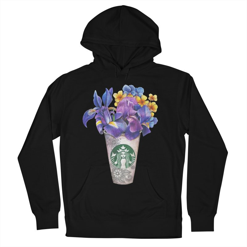 Starbucks Men's Pullover Hoody by RayneColdkiss Art
