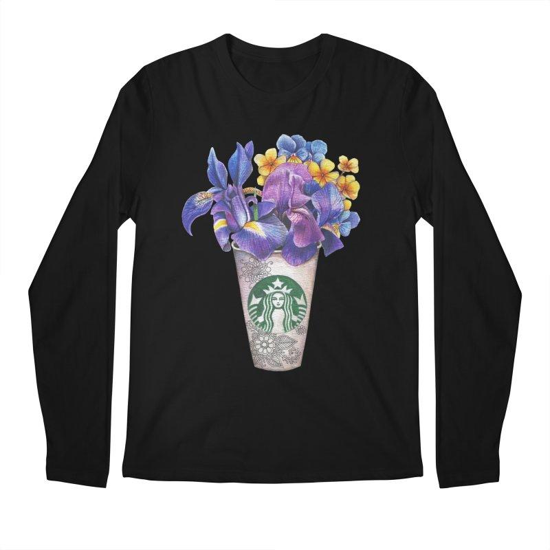 Starbucks Men's Longsleeve T-Shirt by RayneColdkiss Art