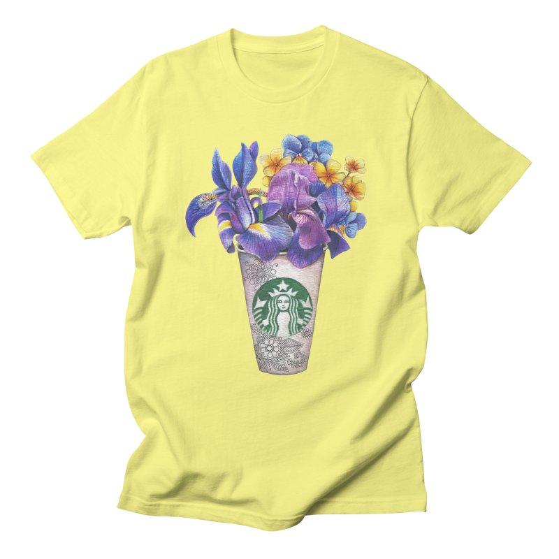 Starbucks Men's T-shirt by RayneColdkiss Art