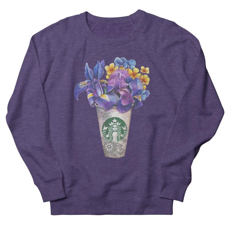 Starbucks Men's French Terry Sweatshirt by RayneColdkiss Art