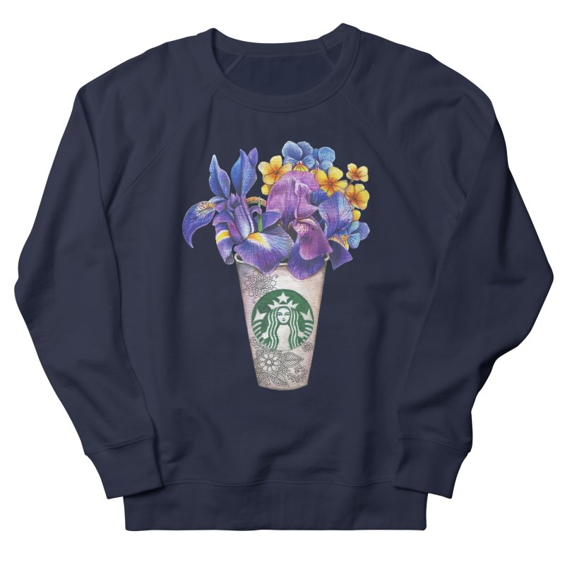 Starbucks Men's Sweatshirt by RayneColdkiss Art