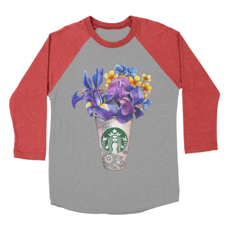 Starbucks Women's Baseball Triblend T-Shirt by RayneColdkiss Art