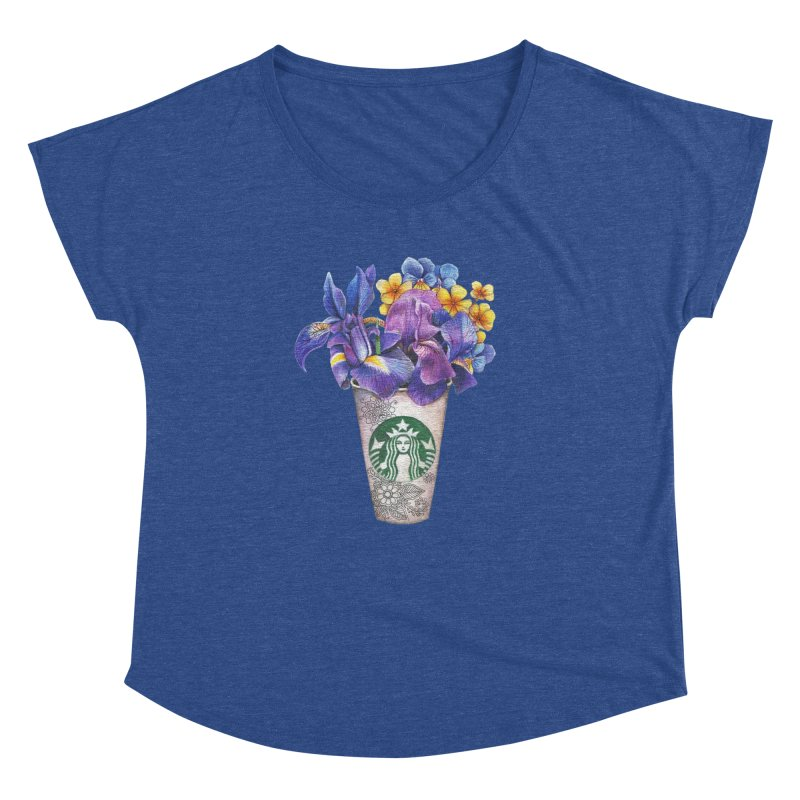 Starbucks Women's Dolman by RayneColdkiss Art