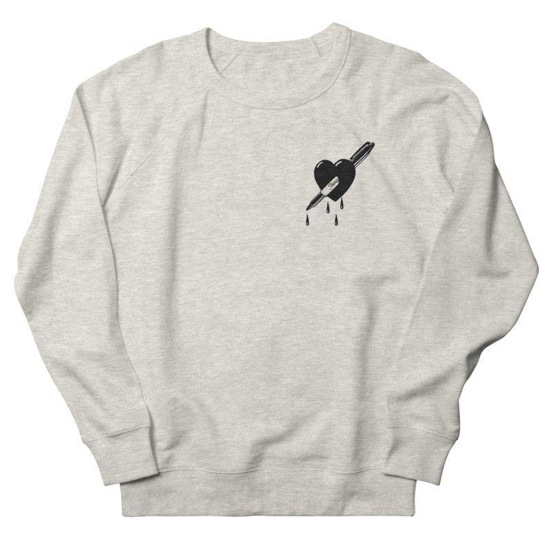 D r a w  T i l l  Y o u r  H e a r t  B l e e d s. Men's Sweatshirt by razonable's Artist Shop
